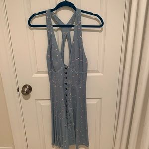 Urban outfitters a-line button down dress